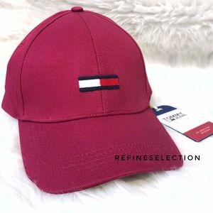 86e916ca255 Tommy Hilfiger Embroidered Logo Strapback Hat Cap ...